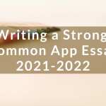 Tips for Editing a Superb Common App Essay
