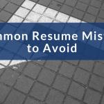 7 resume mistakes to avoid