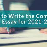 banner for how to write the common app essay in 2021